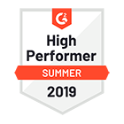 G2 Crowd - Sales Analytics Software High Performer