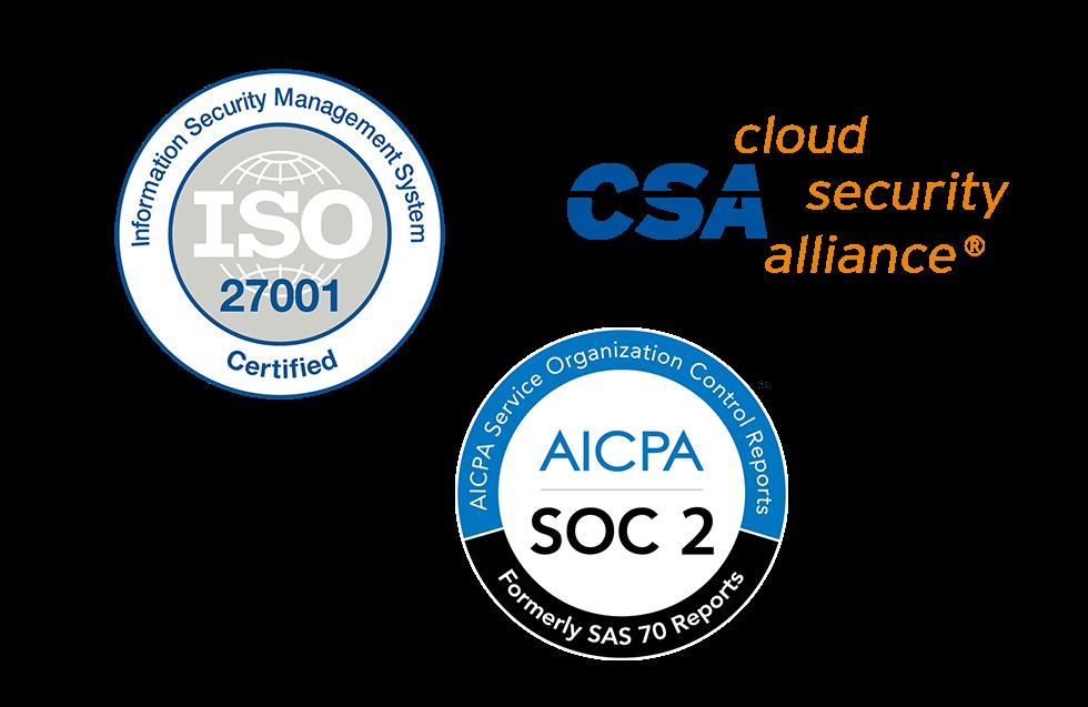 SalesDirector.ai ISO27001, SOC 1/SOC 2/SSAE16, FISMA Certifications